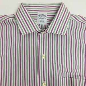 Brooks Brothers Non Iron Slim Fit Shirt Sz 16-34